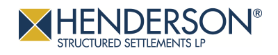 henderson structured settlements logo